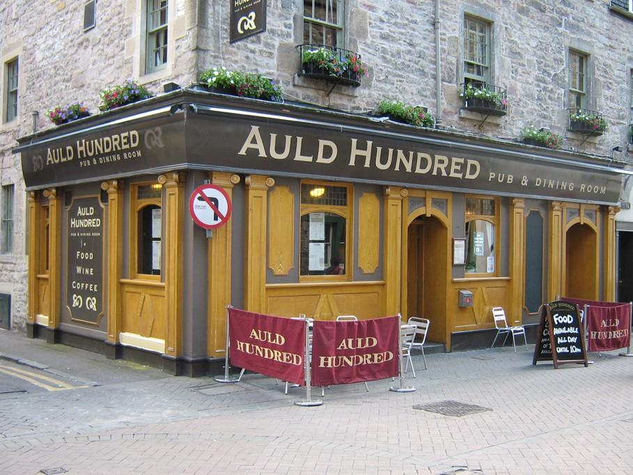 Auld Hundred Rose Street, Edinburgh