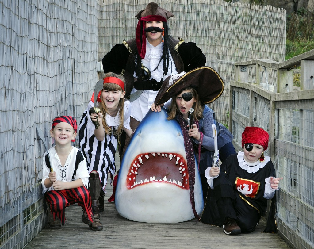 Pirates and Princesses go free at Deep Sea World, North Queensferry