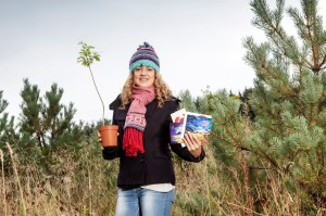 Zoe Strong for the Woodland Trust Christmas card recycling program