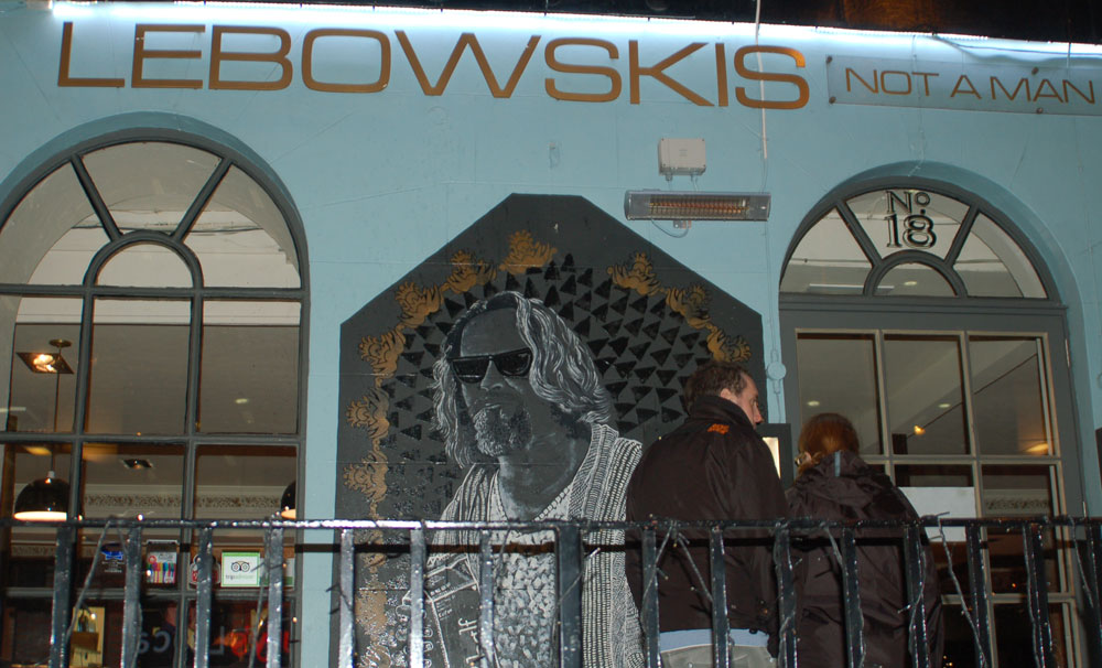 Lebowskis Bar Edinburgh