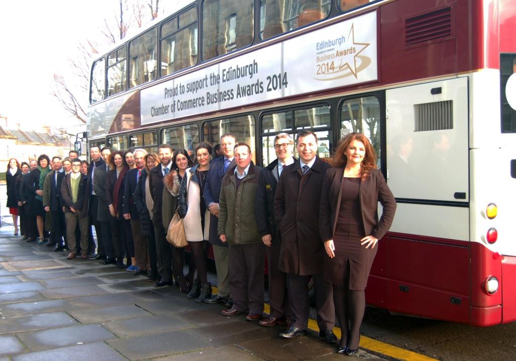 Edinburgh Chamber Awards Bus
