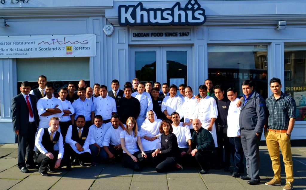 Khushis Indian restaurants Edinburgh