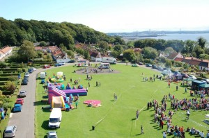 Sale on the Green, Limekilns, Fife