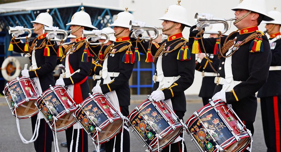 Armed Forces band concert Edinburgh