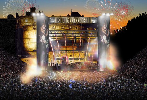 edinburgh castle concert