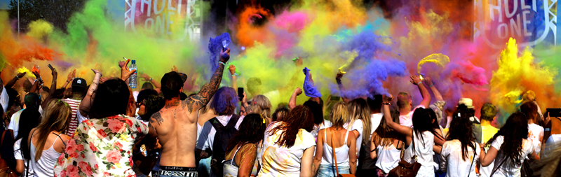 holi one music festival