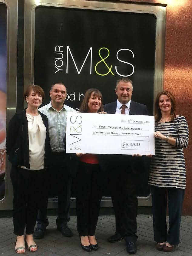 ms local charity edinburgh