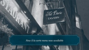 The Doric Tavern Bar