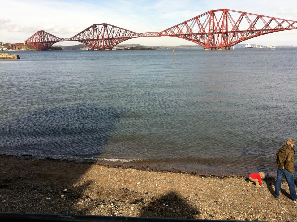 View from The Boathouse South Queensferry