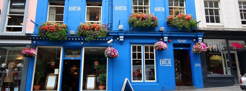 maison bleue edinburgh