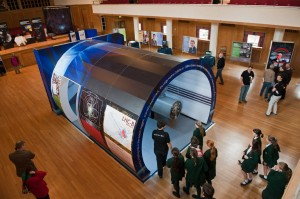 Large Hadron Collider visits Dynamic Earth