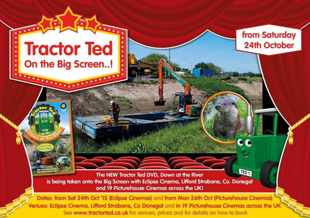 Tractor Ted hits the big screen