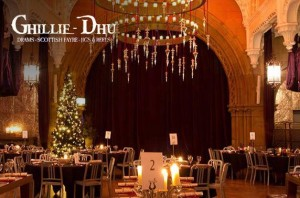 Festive Fayre Menu at the Ghillie Dhu