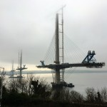 New Forth Road Bridge under construction 2016