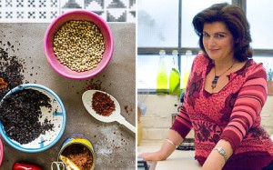 Diana Henry at the Edinburgh Cookery School