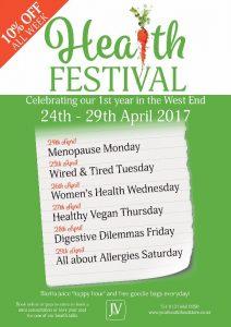 Jan de Vries Health Festival