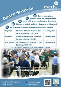 Beginners Scottish Dance Classes