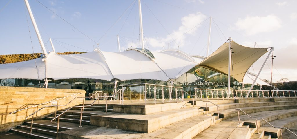 Dynamic Earth Exterior