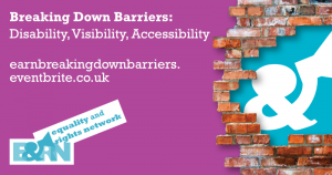 Breaking Down Barriers: Disability, Visibility, Accessibility