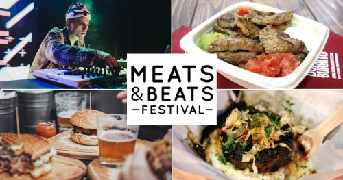 Meats & Beats Event Header