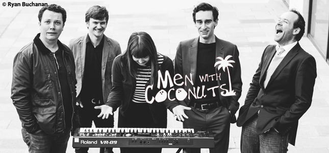 Men with Coconuts & Friends