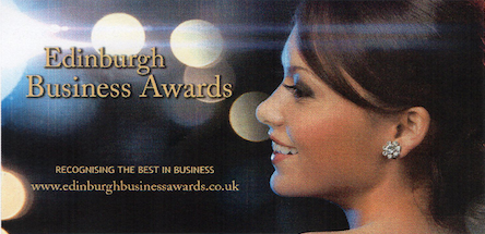 Dean Jones Edinburgh Business Awards