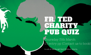 Malones – Fr. Ted charity quiz