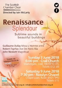 Renaissance Splendour – Scottish Chamber Choir