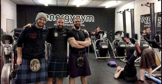 Energy Gyms in Edinburgh