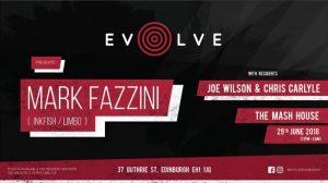 Evolve – Mark Fazzini – 29/06/18