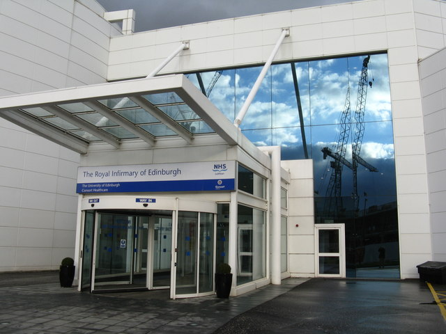 nhs edinburgh hospital