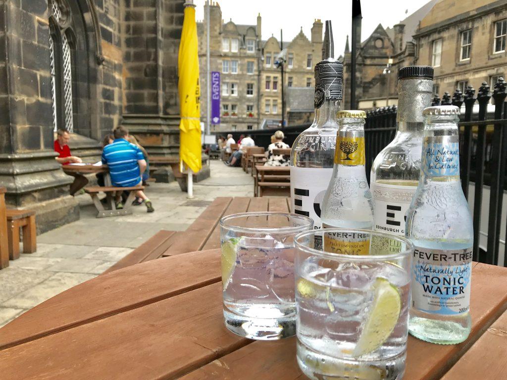 Edinburgh Hub Gin Terrace 2