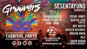 Groovers Carnival Party
