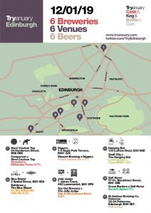 Tryanuary Brew Collab Pub Crawl