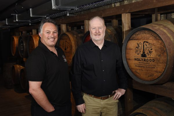 Pic - Greg Macvean - 30/07/19 - 07971 826 457 - Free first use pics Holyrood Distillery officially opens - the launch of the first whisky distillery in Edinburgh for nearly 100 years. Tours of the distillery which also makes gin began today and will run daily throughout the year.