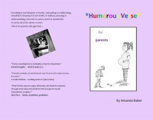 Humorous Verse for Parents – Book Launch Party