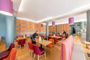 06.08.2019. Contini Scottish Cafe and Restaurant at the Scottish National Gallery, Edinburgh.