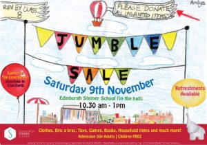 Edinburgh Steiner School Jumble Sale