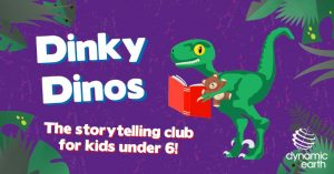 Dinky Dinos: A Story Time Adventure to the Moon