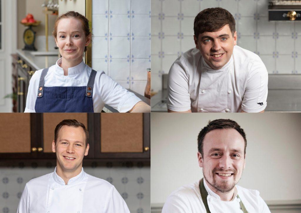 Strathearn Chefs (L-R Roberta Hall, Paul Graham, Scott Smith, Sam Carter) landscape