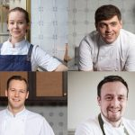Strathearn Chefs (L-R Roberta Hall, Paul Graham, Scott Smith, Sam Carter) landscape
