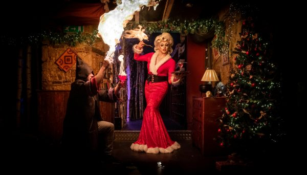 Edinburgh's wizard themed speakeasy, The Cauldron Magical Experience, launches a fierce programme of events to fire up the festive spirit thecauldron.ioedinburgh