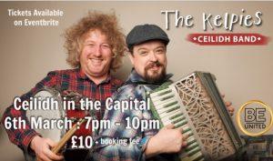 Ceilidh in the Capital: The Kelpies Ceilidh Band