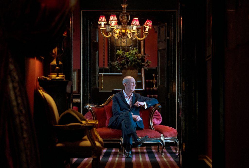 James Thomson Prestonfield house,Edinburgh.11.20.Photograph David Cheskin.